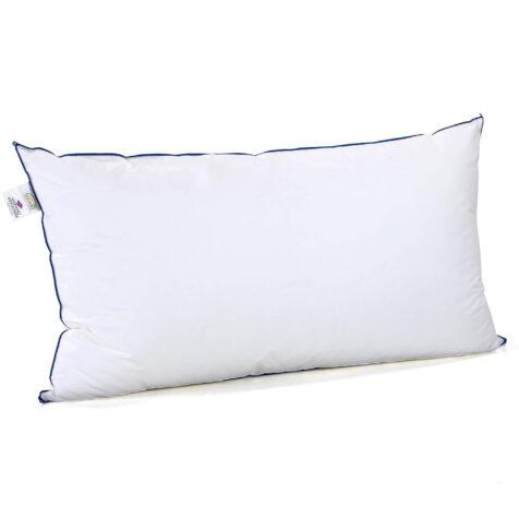 Blåklocka kudde i mellantjocklek 50x90 cm.