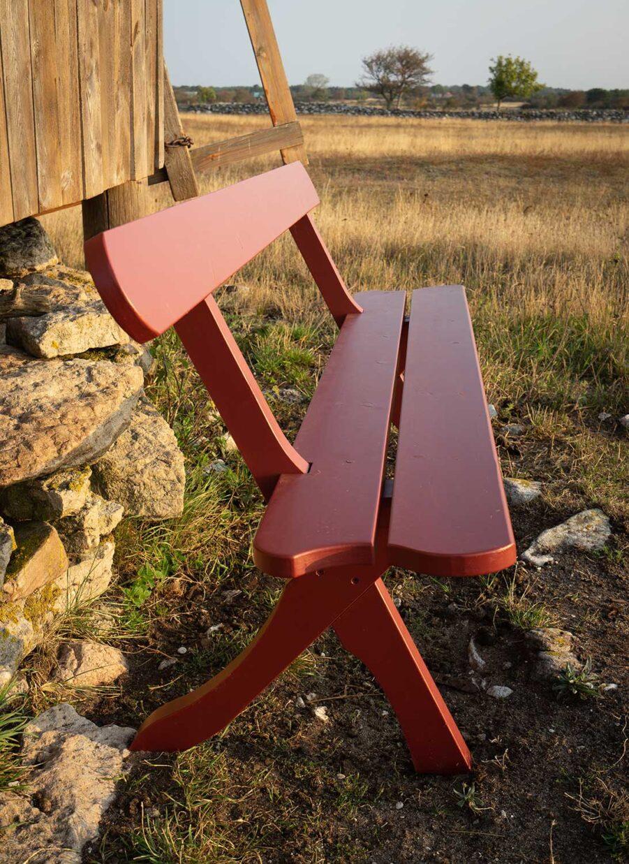 Guteform Bölske soffa röd