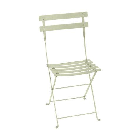 Bistro stol i färgen Willow green från Fermob.