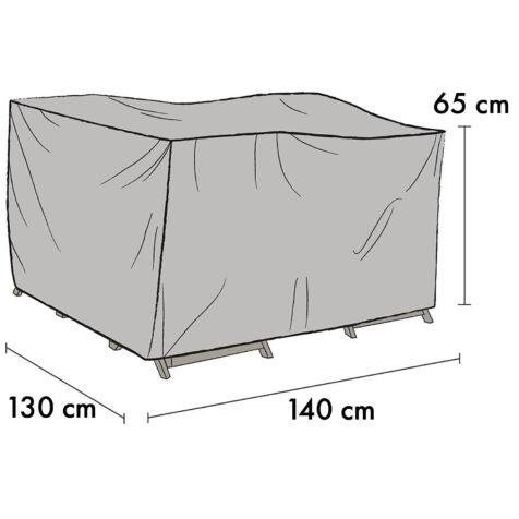 1021-7 Möbelskydd 140x130 cm höjd 65 cm