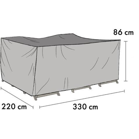 1013-7 Möbelskydd 330×220 cm höjd 86 cm