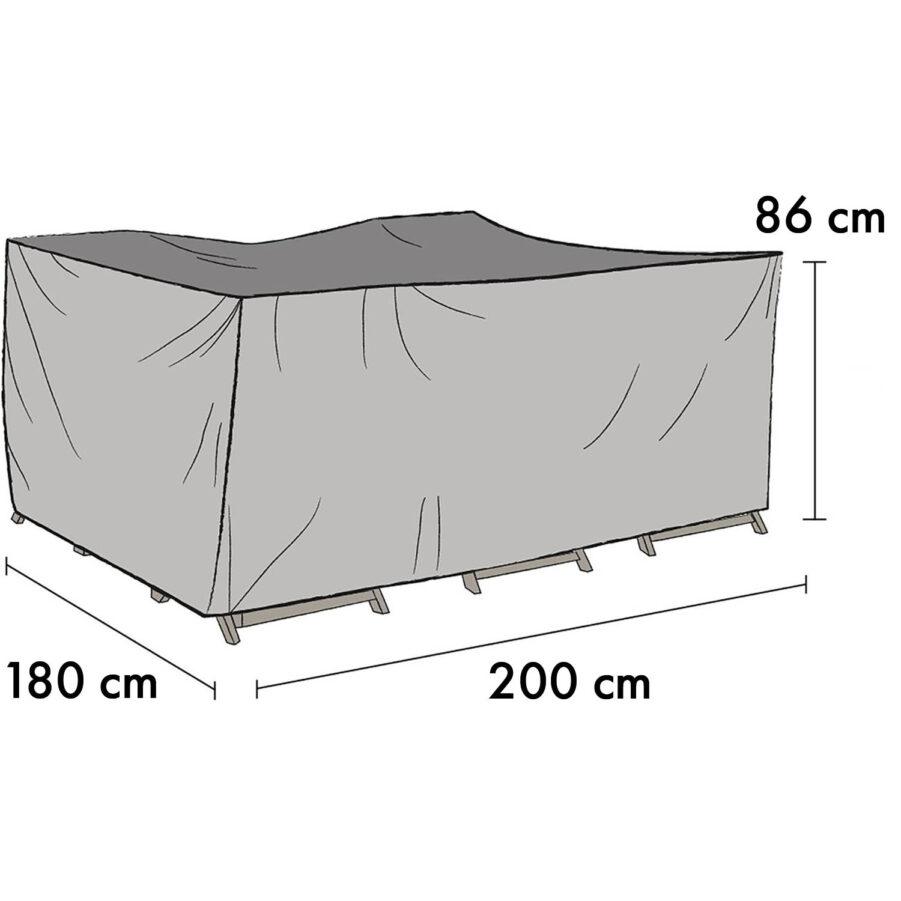 1011-7 Möbelskydd 180×200 cm höjd 86 cm