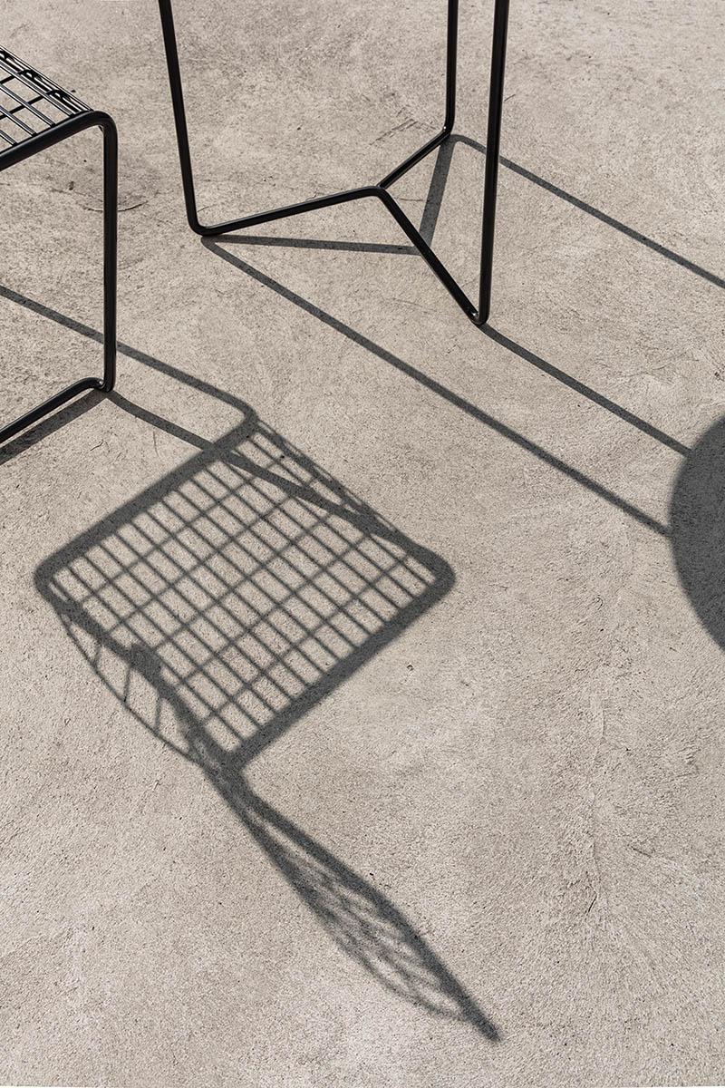 High tech stolar i svart