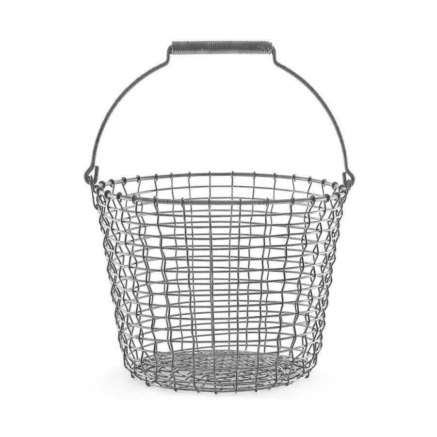 Bucket 16 korg från Korbo i galvaniserat stål.