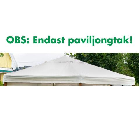 Paviljongtak till 6-kantig Hov paviljong från Brafab.