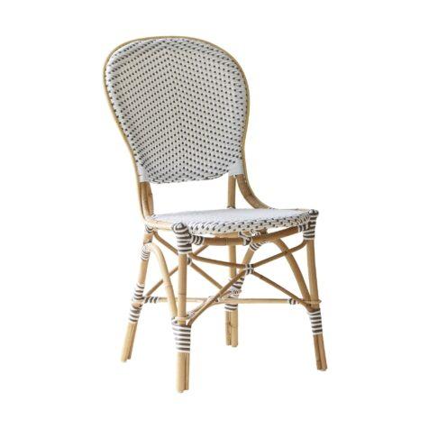 Isabell caféstol i vitt från Sika-Design.