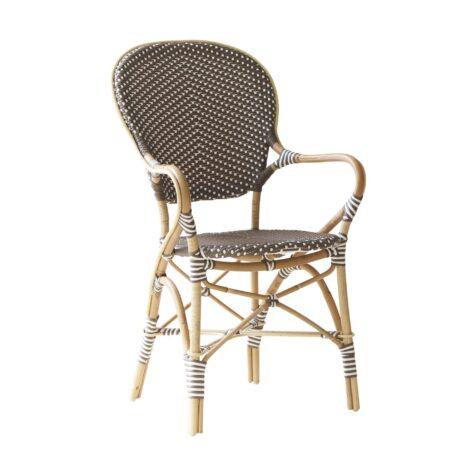 Isabell karmstol från Sika Design i rotting och konstrotting.