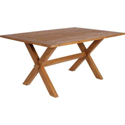 Colonial matbord i teak i storleken 160x100 cm från Sika-Design.