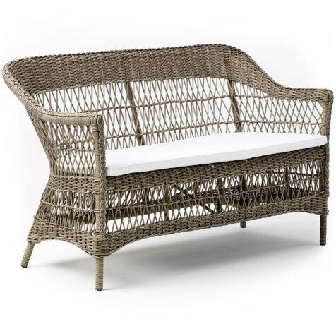 Charlot 2-sits soffa antik i konstrotting från Sika-Design.