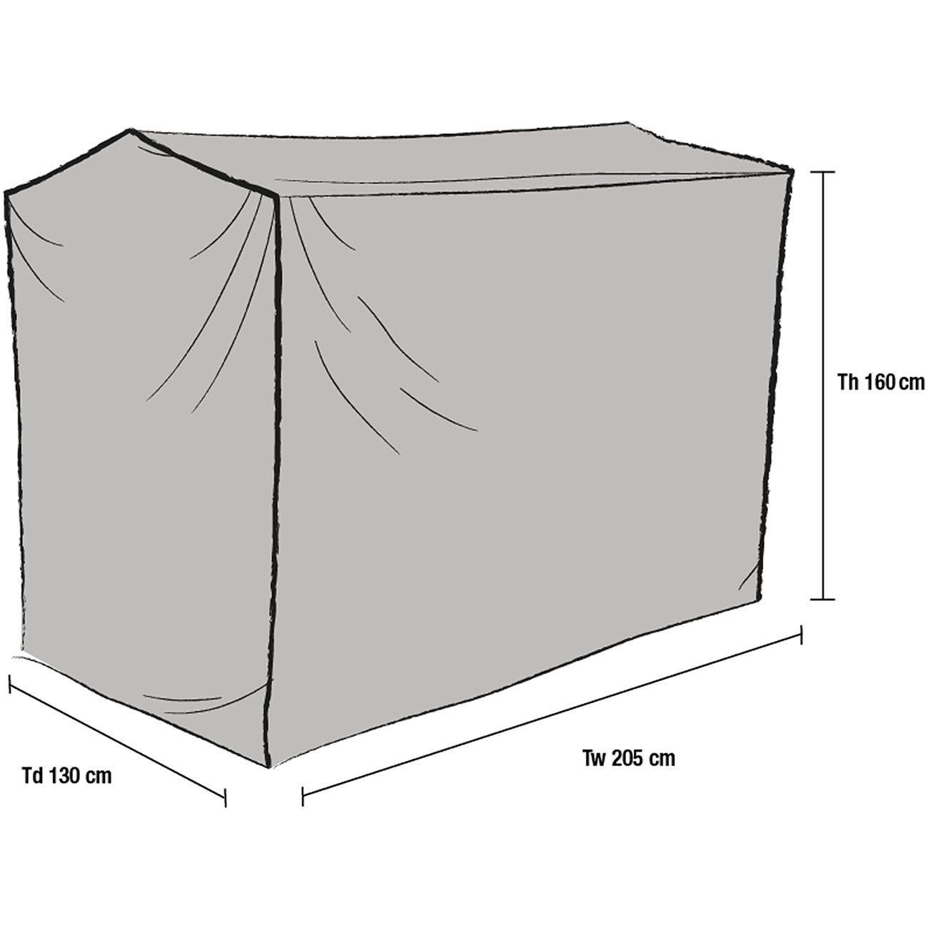 Skiss på hammockskydd 1046-7 från Brafab.