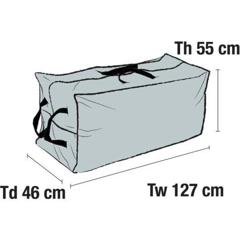Skiss på möbelskydd 1038-7 från Brafab.