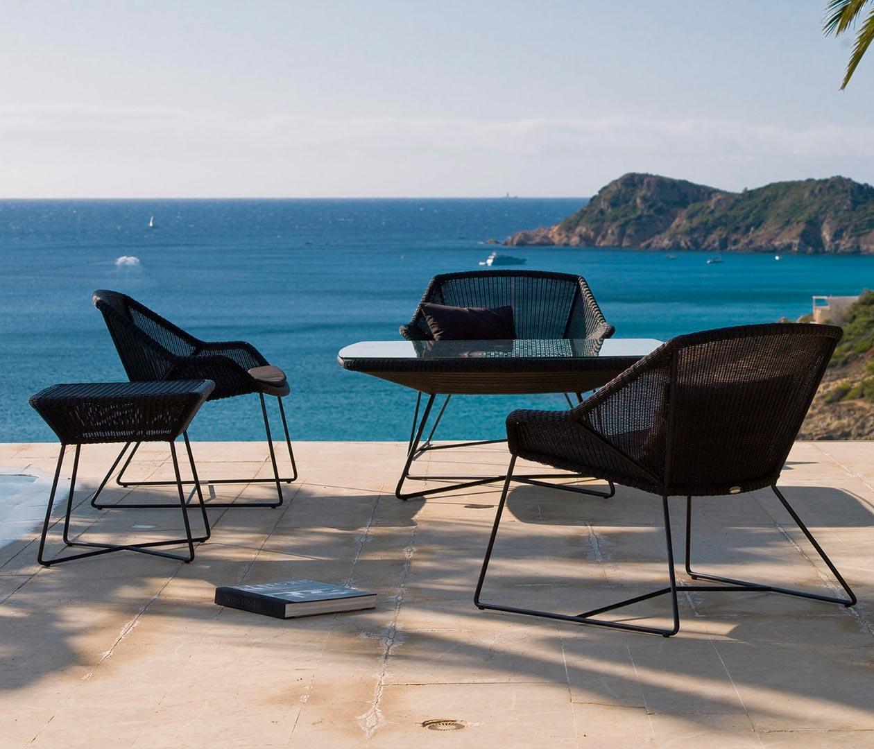 Breeze loungefåtölj från Cane-line.