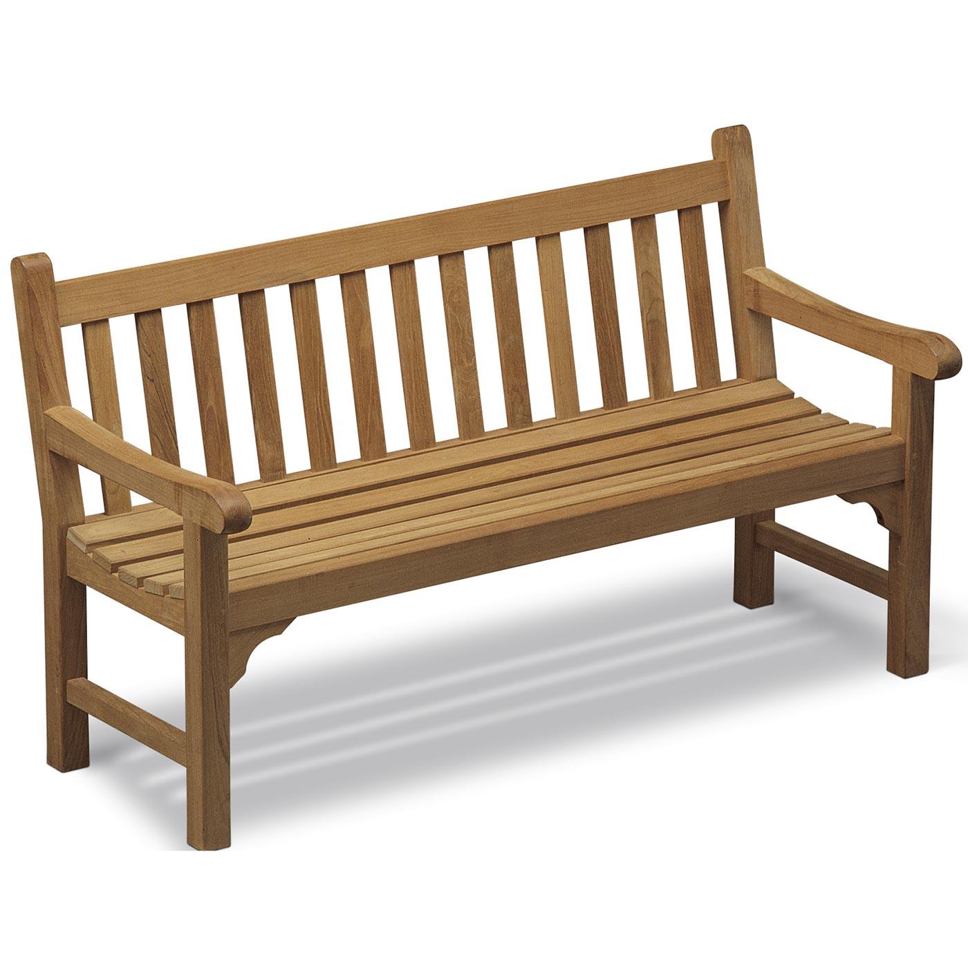 England soffa 152 cm i finaste teak från Skagerak.
