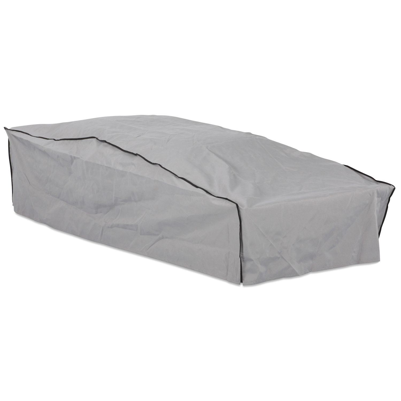 Möbelskydd för vilsängar i grå polyester från Brafab.