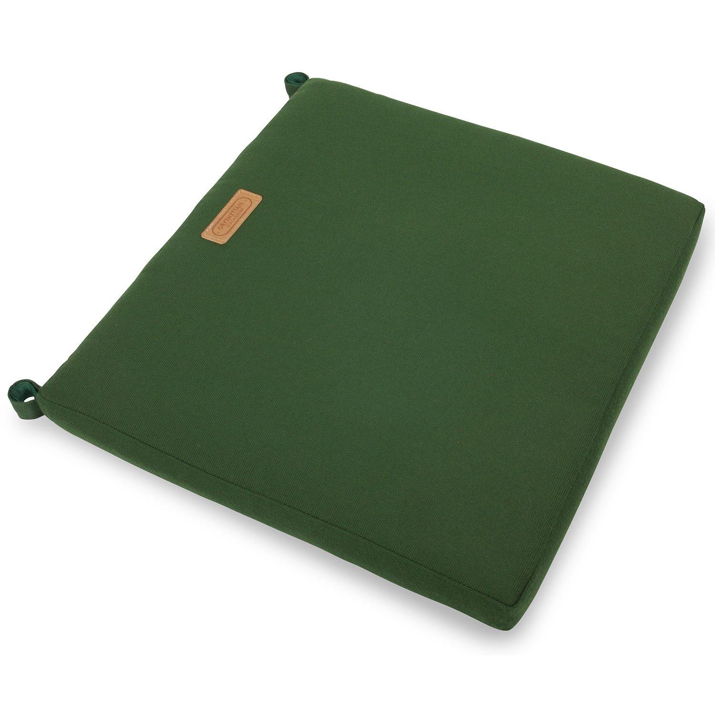 A2 sittdyna i grönt sunbrella tyg från Grythyttans Stålmöbler.