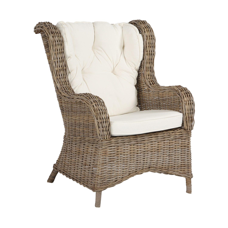 Wingchair i kubu grey från Artwood.