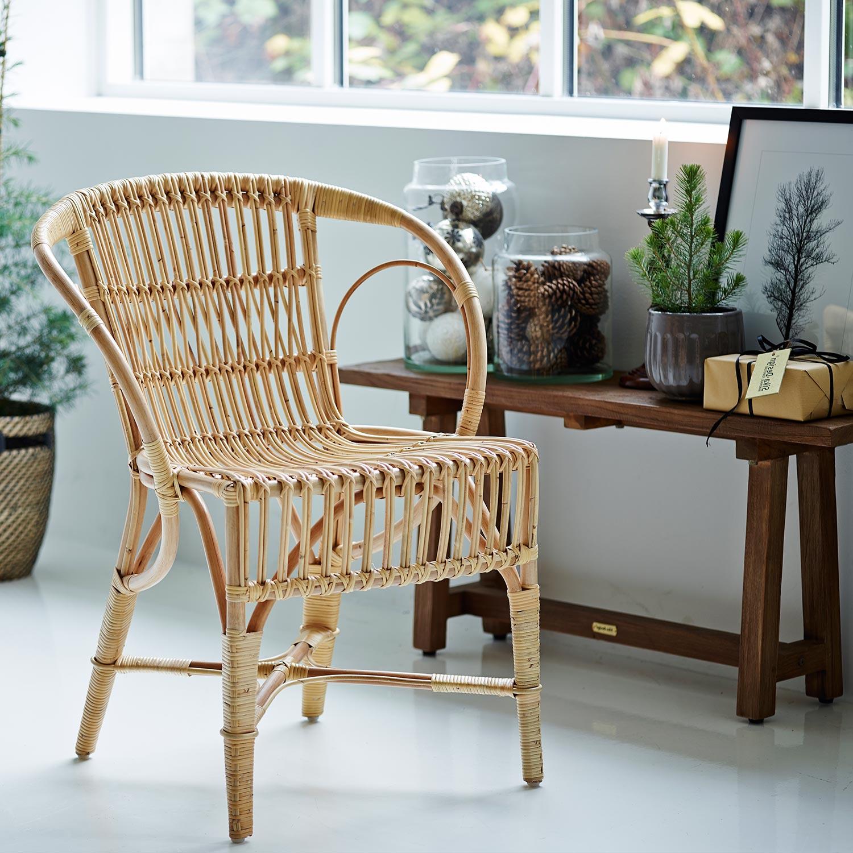 Wengler stol i naturfärg ur Icons kollektionen från Sika Design.