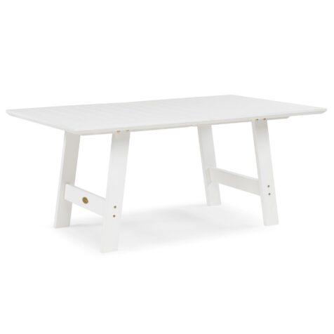 Cecilia matbord i vitt utan iläggsskiva från Hillerstorp.