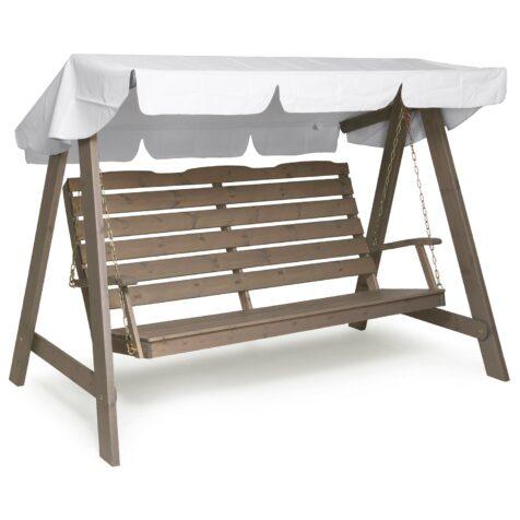Dalom hammock i grålaserad furu från Hillerstorp.