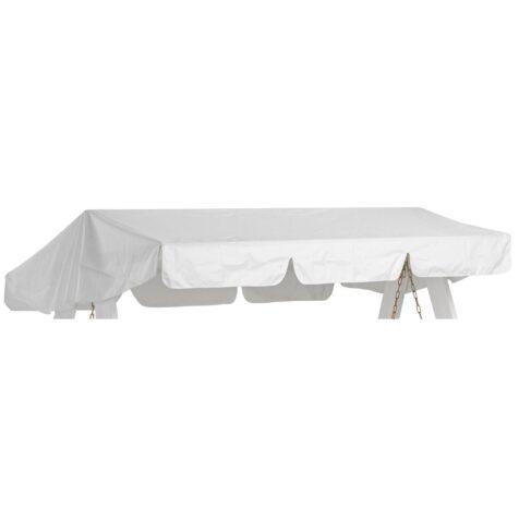 Hammocktak i vitt från Hillerstorp passande Dalom hammock.