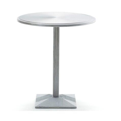 Lund cafébord i återvunnen aluminium från Byarums Bruk..