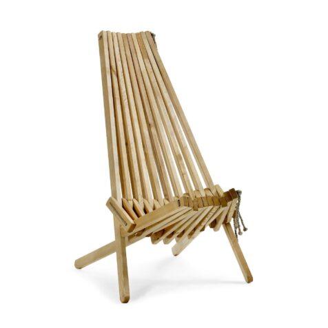 Ribbon eller som den även kallas Eco Chair, här i oljad björk.
