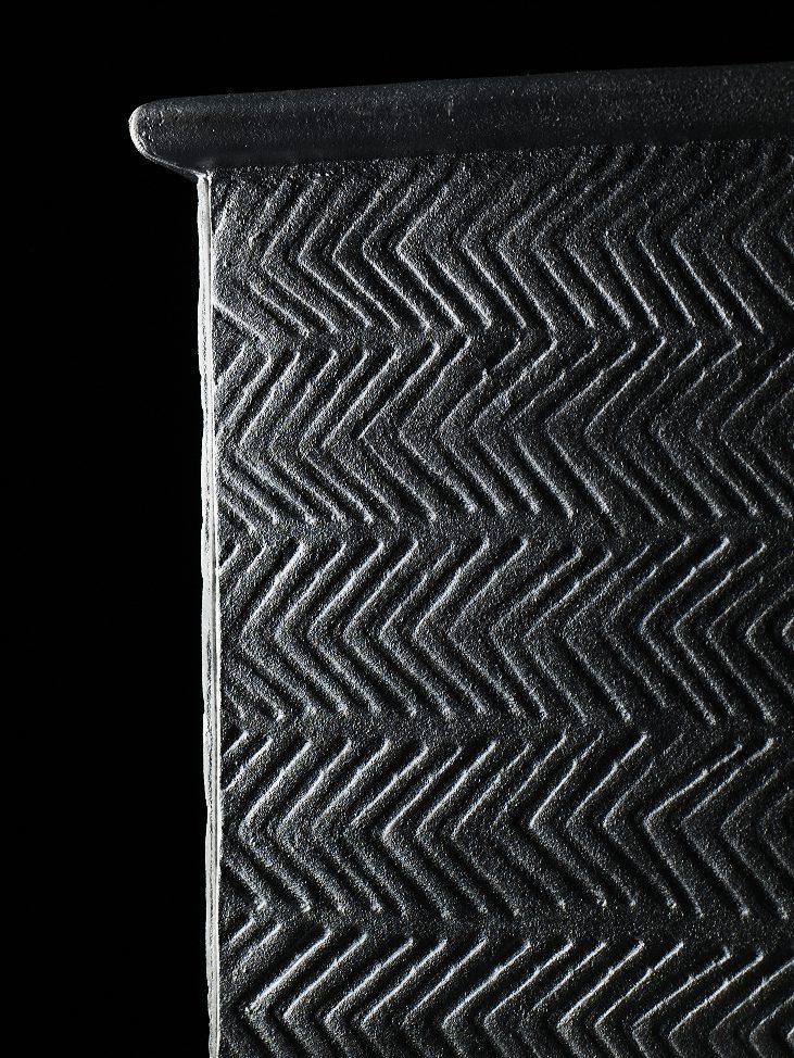 Detaljbild på Signe växtkärl från Byarums Bruk.