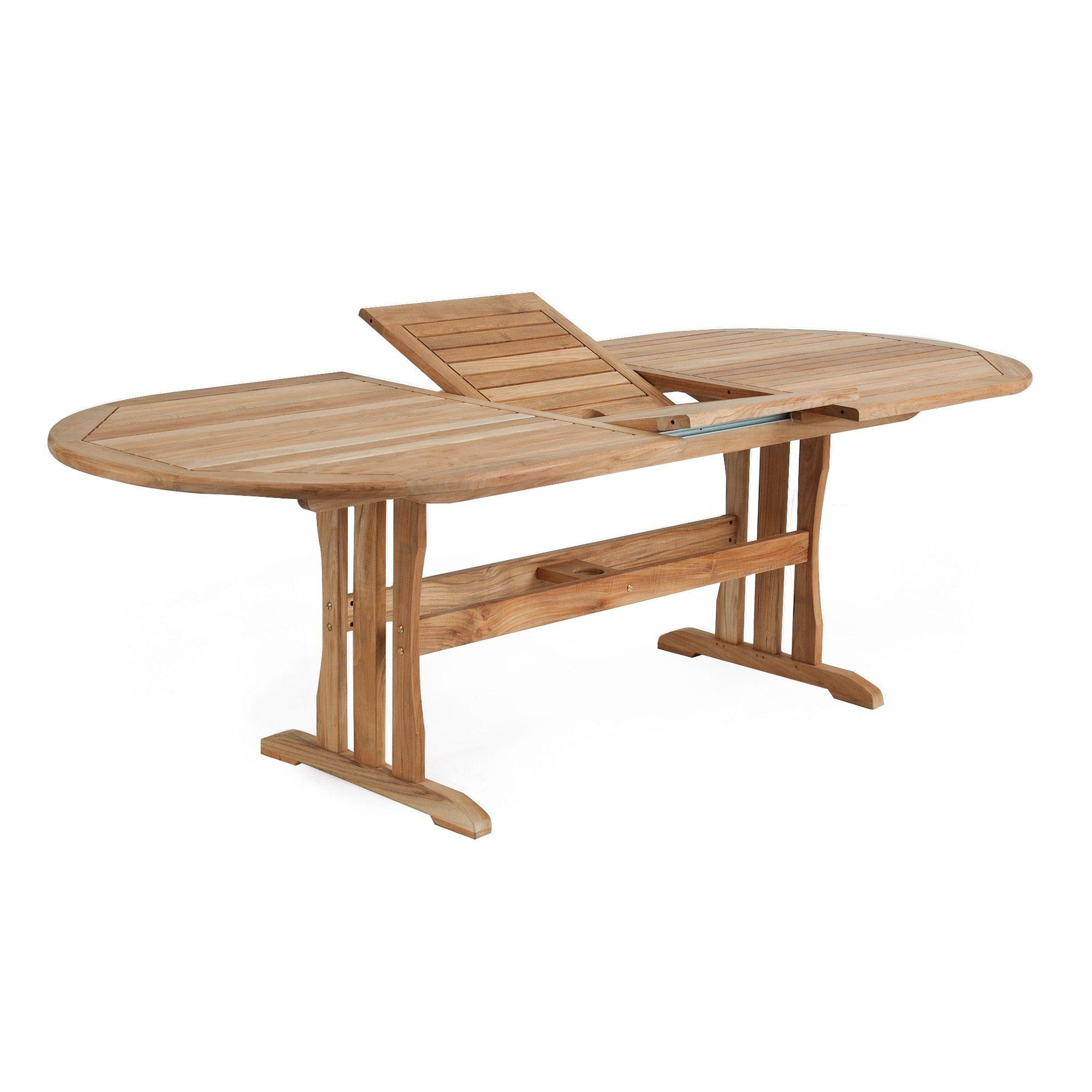 Melbourne förlängningsbord 230-310x110 cm teak