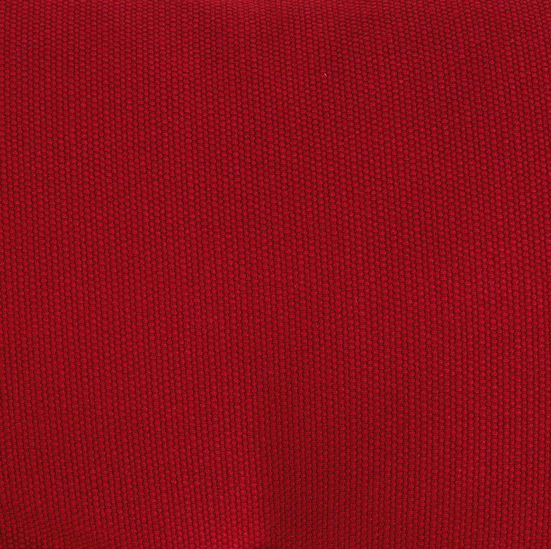 Hammocktak med tofsar, röd