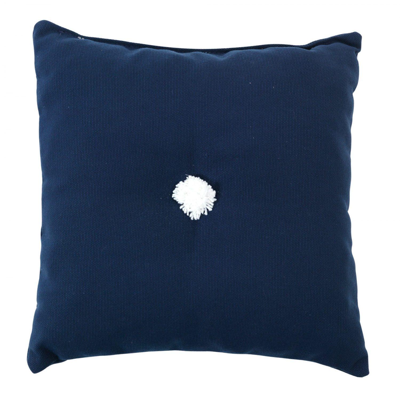 Prydnadskudde 30x30 cm, dralon, mörkblå