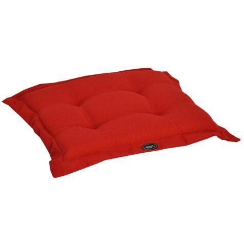Canyon sittdyna 42×45 cm röd strukturdralon från Fritab.
