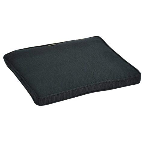 Boxsydd sittdyna i dralon från Fritab i färgen grå 45x43 cm.