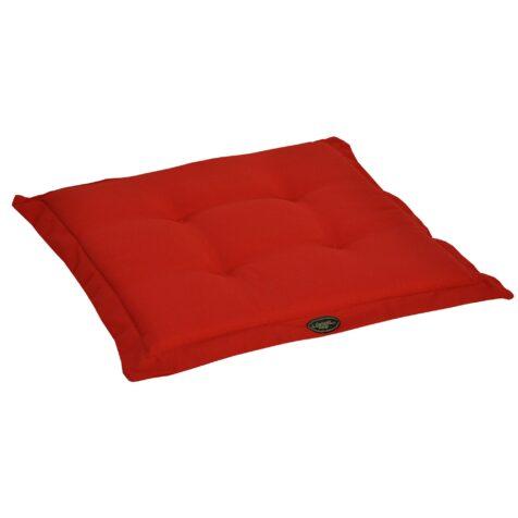 Canyon sittdyna 46×48 cm tunn röd strukturdralon från Fritab.
