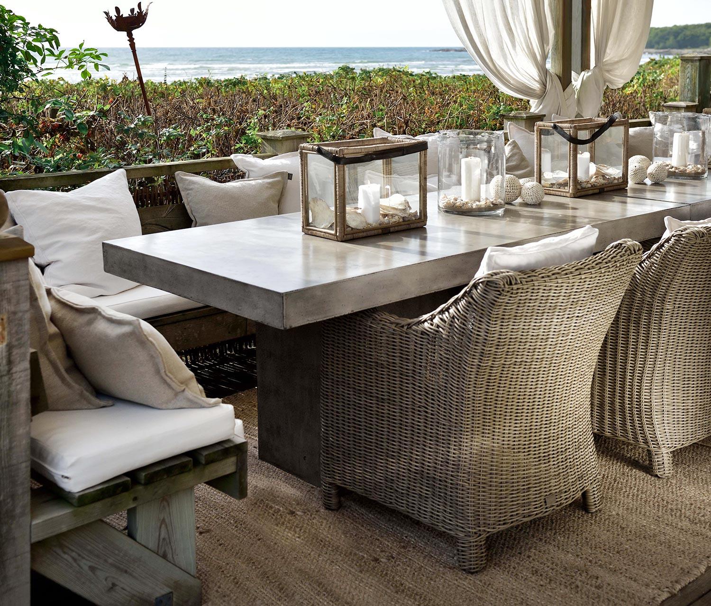 San Diego fåtölj med Campos matbord från Artwood.