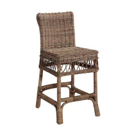 Providence barstol i färgen kubu grey.