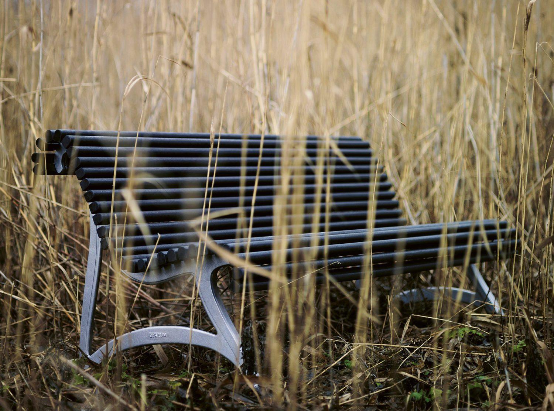 Miljöbild på Jujol soffa från Byarums Bruk.
