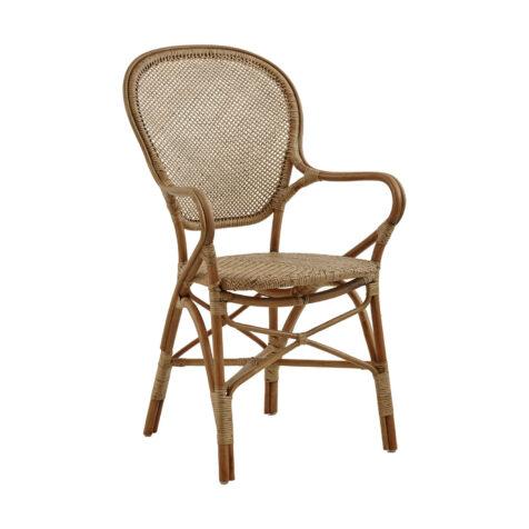 Bild på Rossini karmstol i färgen antik.