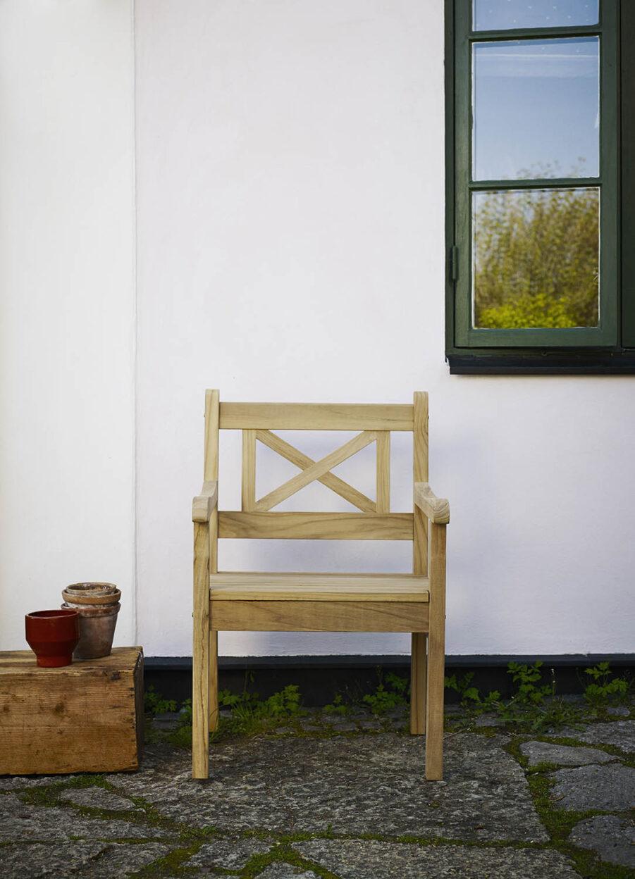 Miljöbild på Skagen karmstol från Skagerak.