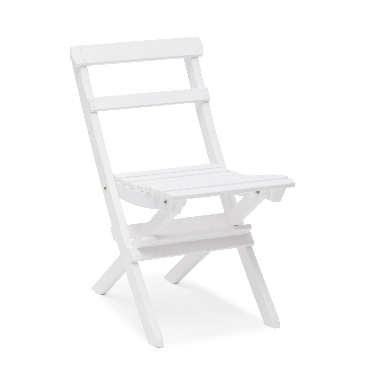 Torpet stol i vitlaserad furu.