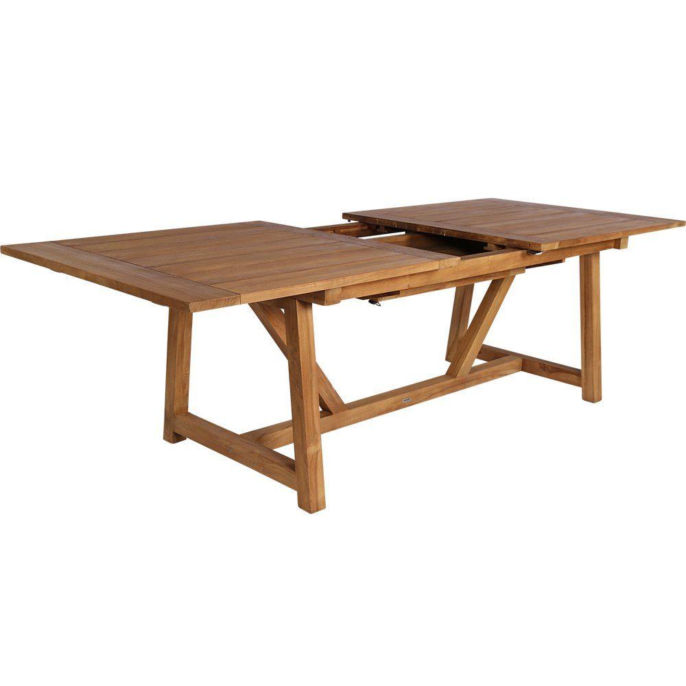 George förlängningsbord i teak från Sika-Design.