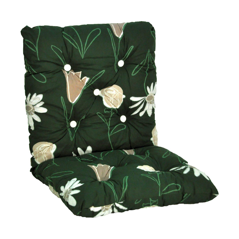 Minivik flockdyna 50 bred i bomull färg grön från Fritab.
