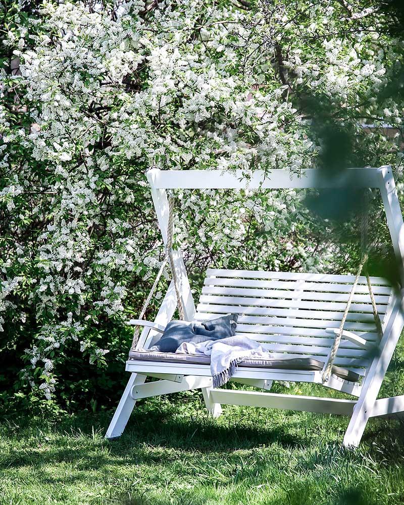 Miljöbild på Hillerstorps Marstrand hammock.