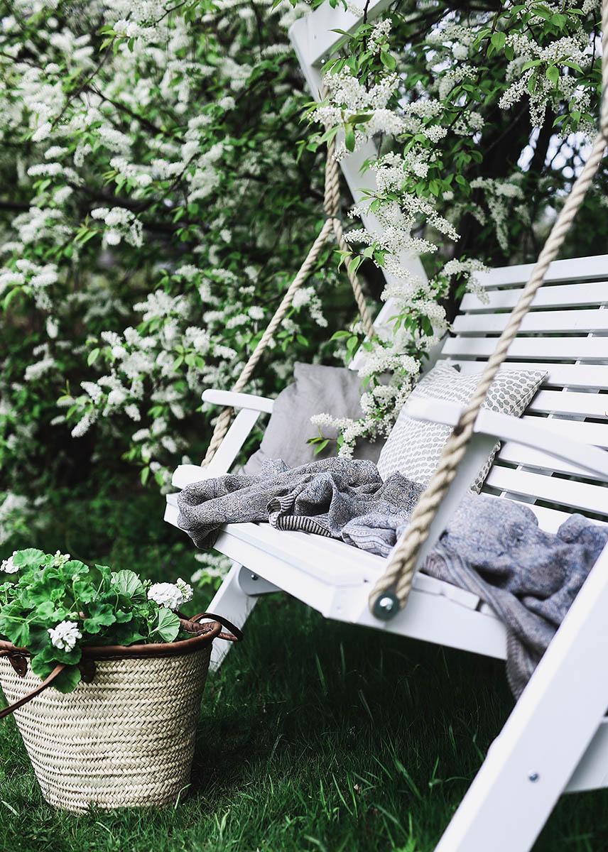 En miljöbild på Marstrand hammock från Hillerstorp.