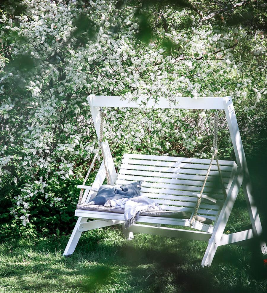 Miljöbild på Marstrand hammock från Hillerstorp.