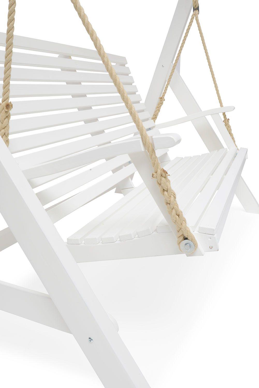 Marstrand hammock i vitt från Hillerstorp.
