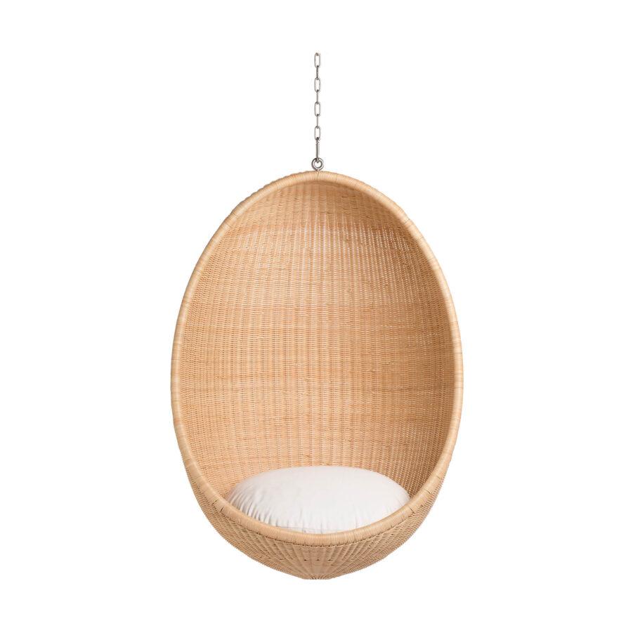 Sika-Design Hanging Egg i äkta rotting.