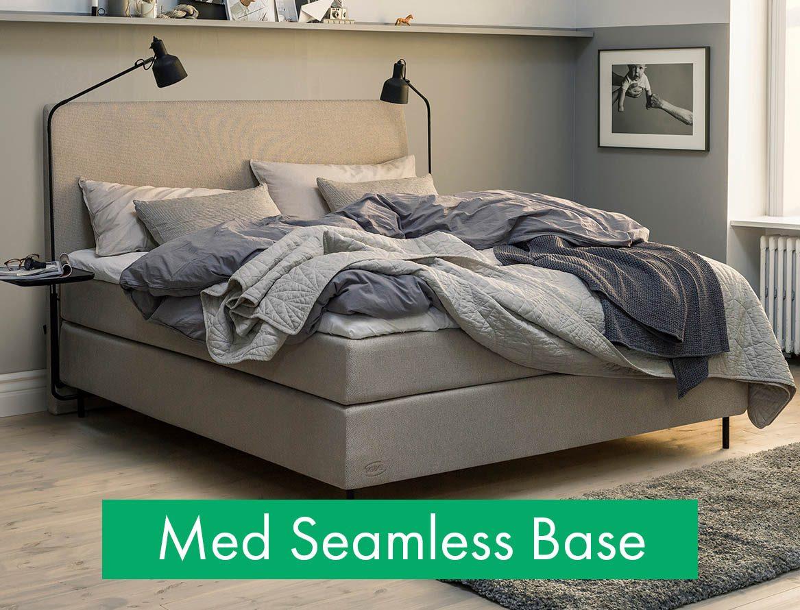 Kontinentalsäng med Seamless Base från Jensen.