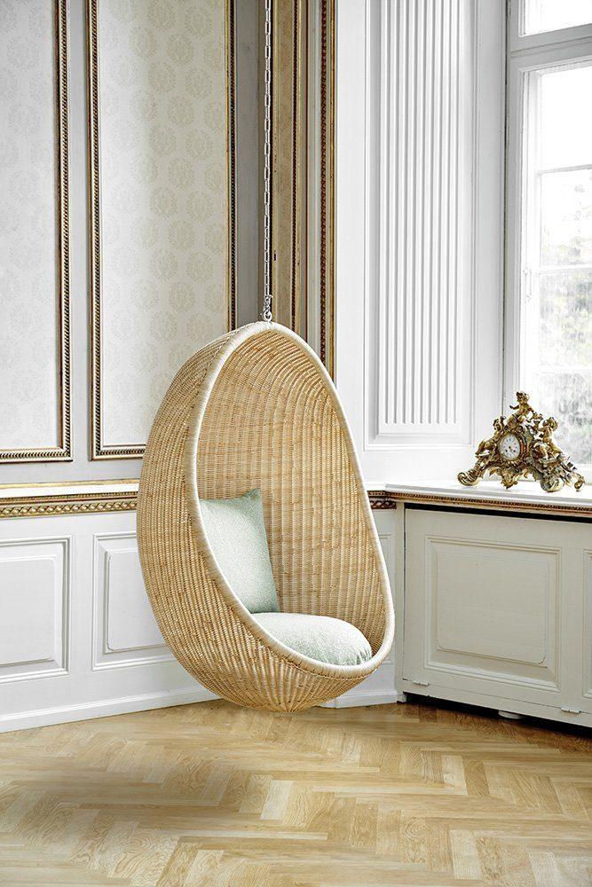 Miljöbild på the Hanging egg från Sika-design.