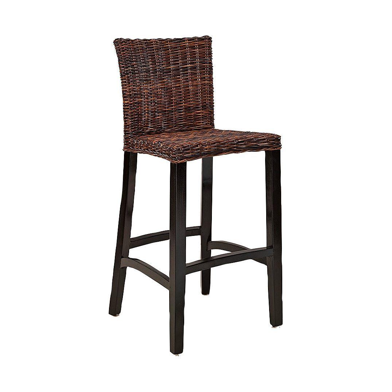 Hartford barstol i rotting med färgen croco brown.