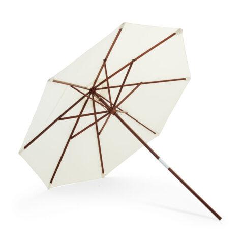 Catania parasoll i vitt från Skagerak.